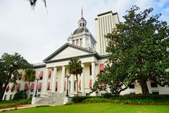 Florida State house. The Old and New Florida state building at Tallahassee, Florida, USA Royalty Free Stock Photos