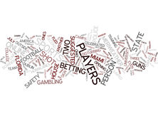 Florida State Players Must Check Their Guns Out Word Cloud Concept. Florida State Players Must Check Their Guns Out Text Background Word Cloud Concept stock illustration