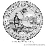 Florida State Seal Stock Images
