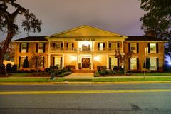 Florida State University. Campus building at Florida State University in the evening Royalty Free Stock Image