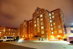 Florida State University. Campus building at Florida State University in the evening Stock Photography