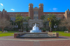 Florida State University Entrance. This is the entrance to Florida State University Campus.Located in Tallahassee, Florida and home to the Florida State Royalty Free Stock Photo