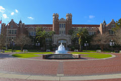 Florida State University Entrance. This is the entrance to Florida State University Campus.Located in Tallahassee, Florida and home to the Florida State Stock Image