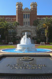 Florida State University Entrance. This is the entrance to Florida State University Campus.Located in Tallahassee, Florida and home to the Florida State Royalty Free Stock Photography