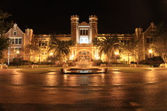 Florida State University Fountain Royalty Free Stock Images