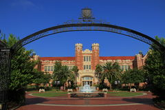 Florida State University. The James Westcott Building on the campus of Florida State University in Tallahassee, Florida GO NOLES Royalty Free Stock Photography