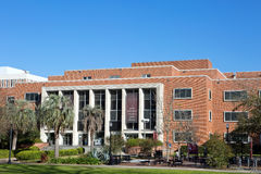 Florida State University Main Library. Entrance to the main library on the campus of Florida State University located in Tallahassee, Florida, USA Stock Images