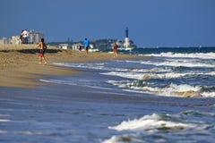 Florida strandplats Royaltyfria Foton