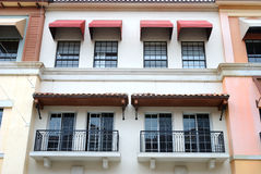 Florida Style Apartment Building Stock Image
