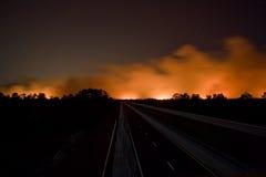 Florida su fuoco Fotografie Stock Libere da Diritti