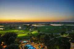 Florida sun and cloud Royalty Free Stock Photo