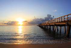 Florida sunrise Royalty Free Stock Photos