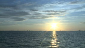 Florida Sunrise - Time Lapse. Sunrise over Fort Myers, Florida.  Shot with a Sony EX3 stock video footage