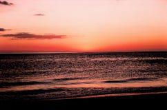 Florida sunset stock image