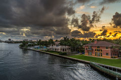 Florida Sunset Stock Image