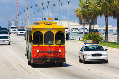 florida suntrolley Royaltyfria Foton