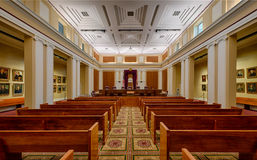 Florida Supreme Court. Chamber in Tallahassee, Florida royalty free stock images