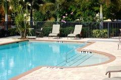 Florida swimming pool Royalty Free Stock Photo