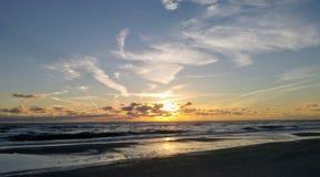 Florida sydvästlig solnedgångsikt, stränder Royaltyfri Foto