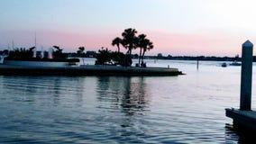 Florida sydvästlig solnedgångsikt, stränder Royaltyfri Bild