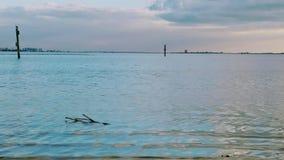 Florida sydvästlig solnedgångsikt, stränder Arkivbilder