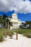 florida tropikalny domowy wielki zdjęcie royalty free