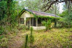 Florida velho abandonado para casa Fotografia de Stock Royalty Free