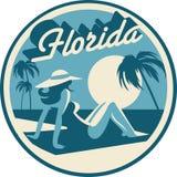 FloridaRoundSymbol2019 illustration stock