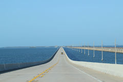 Floriday verrouille la route 1 de ponts Photos stock