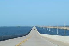 Floriday Wpisuje most autostradę 1 Zdjęcia Stock