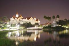 Floridian I. Grand floridian resort at night in lake buena vista florida Stock Images