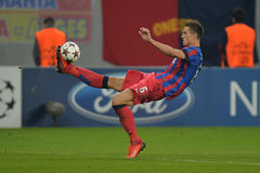 Florin Gardos of Steaua Bucharest Royalty Free Stock Photos