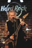 Florin Tibu Crivat i Hard Rock Cafe Arkivbild