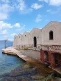 Florio ex-Stabilimento, Favignana, Sicília, Itália Imagens de Stock