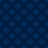 Florish background in blue. Tones. Vector seamless pattern royalty free illustration