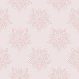 Florish background in pastel tones. Vector seamless pattern vector illustration