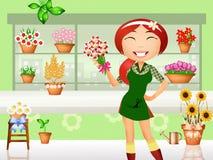 florist Royalty-vrije Stock Afbeeldingen