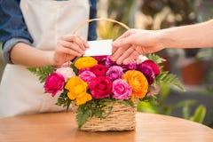 florist royalty-vrije stock fotografie