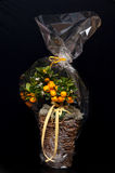Florist composition with oranges Stock Photo