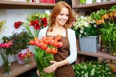 Florist corner Royalty Free Stock Images