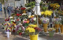Florist shop in Valencia, Spain Royalty Free Stock Photos