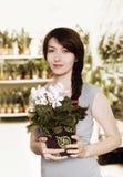 Florista Fotos de archivo