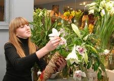 Florista Foto de Stock