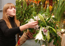 Florista foto de stock royalty free