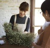 Florista Botany Bouquet Blooming da loja do florista fotografia de stock royalty free