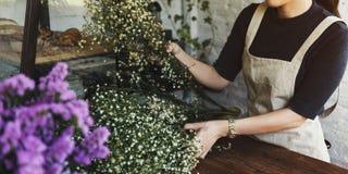 Florista Botany Bouquet Blooming da loja do florista imagem de stock