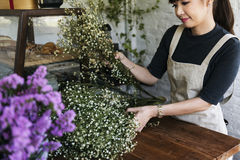 Florista Botany Bouquet Blooming da loja do florista imagem de stock royalty free
