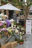 Florista del paseo lateral Fotos de archivo