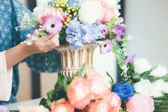 Florista novo Botany Bouquet Bl de Flower Shop Store do proprietário empresarial imagens de stock royalty free