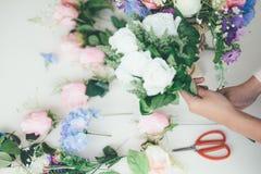 Florista novo Botany Bouquet Bl de Flower Shop Store do proprietário empresarial imagem de stock